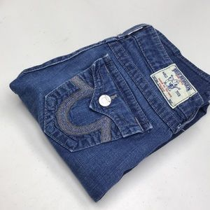 Womens True Religion Jeans STRAIGHT 26x32 @likenew